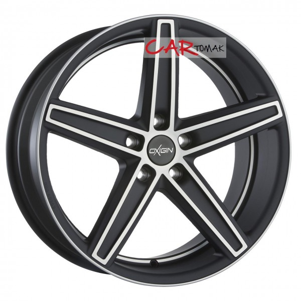 ALLOYWHEEL 9X20 OXIGIN 18 CONCAVE BLACK FP MATT 5X108 ET40 HB72.6