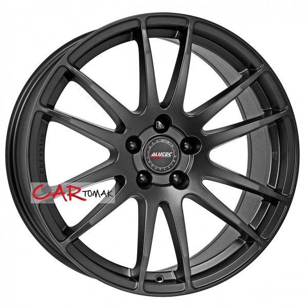ALLOYWHEEL 8.5X18 ALUTEC MONSTR BLACK RACING 5X112 ET30 HB70.1